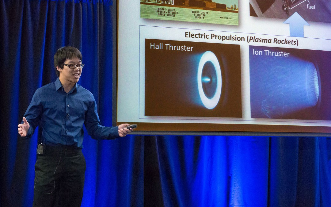 Engineer wins 2016 UCLA Grad Slam, will represent campus at UC-wide competition