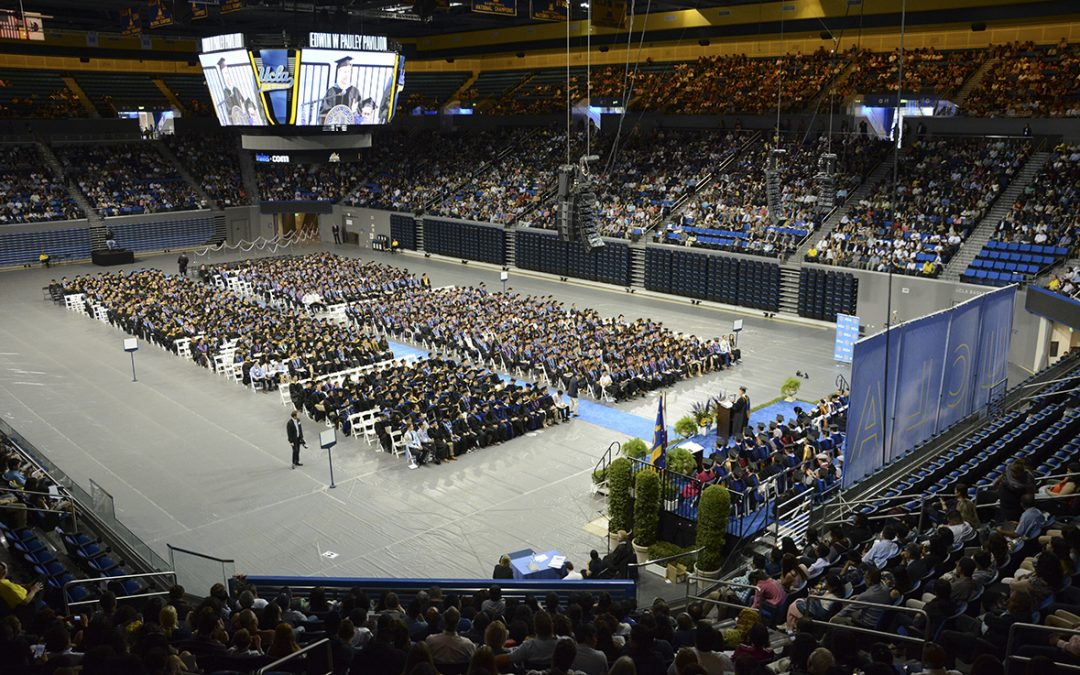 UCLA Engineering Commencement 2016