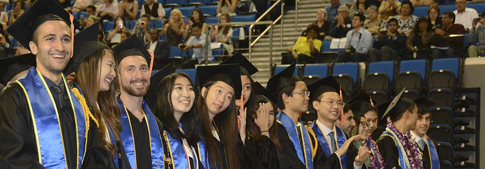 UCLA Engineering Class of 2017 celebrated at commencement