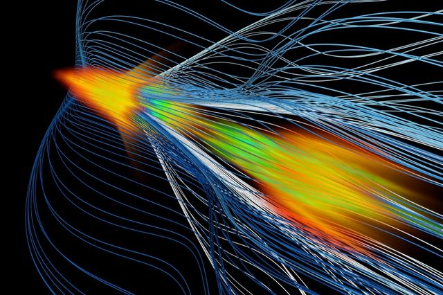 Antimatter Catches A Wave: Joshi, Mori help develop better linear electron-positron colliders