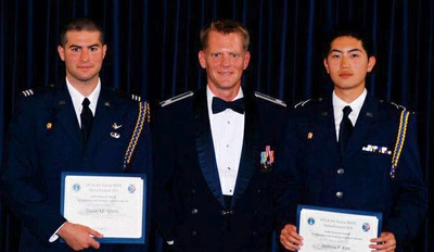 First UCLA Students to Receive the National Cadet Research Award from the U.S. Air Force