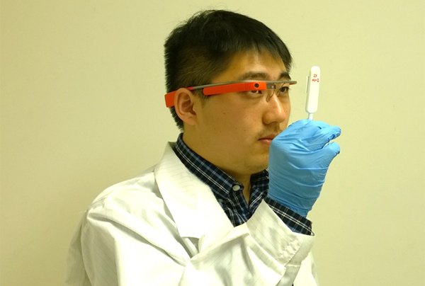 UCLA Researchers Create Google Glass App for Instant Medical Diagnostic Test Results