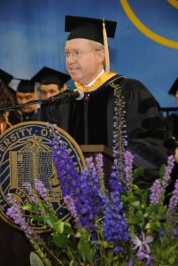 2016 Commencement Keynote Speaker Thomas Kennedy, PhD '84.