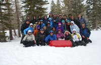 Snow Days: Hydrology of Mountain Watersheds Course Takes Classroom into the Field
