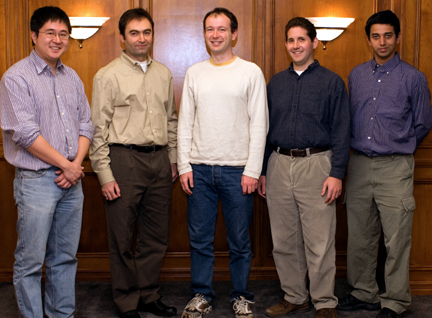 Five Promising Faculty Receive NSF CAREER Awards