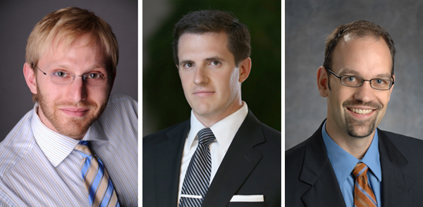Three Faculty Win PECASE: Highest Honor for Young Researchers in U.S.