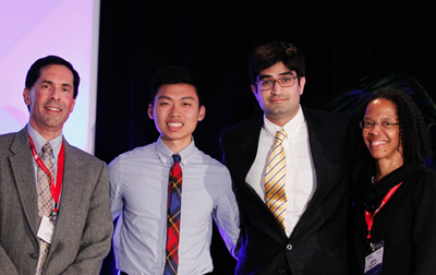 Bioengineering Undergraduates Win National Awards, Give Back