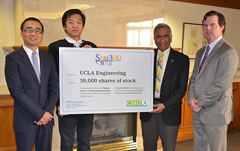 Gift of Stock to UCLA Engineering