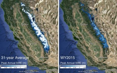 Sierra Nevada snowpack not likely to recover from drought until 2019