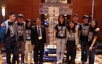 Civil Engineering Students Win National Seismic Design Contest