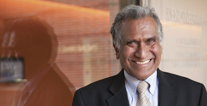 $1 million gift endows chair in name of former dean Vijay Dhir