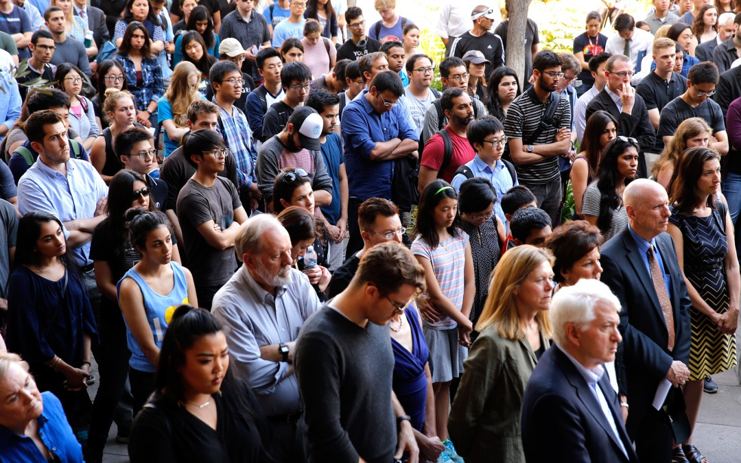 William Klug remembered by UCLA Engineering family at June 3 vigil