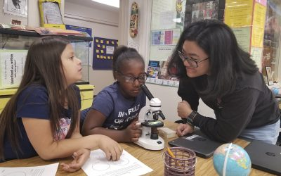 UCLA Students Offer Underserved K-8 Students Hands-on STEM Lessons