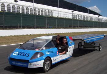Solartaxi at UCLA Engineering on Tuesday, July 22