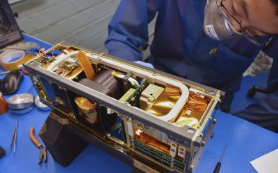 Countdown to launch: Undergrads build space weather satellites for NASA