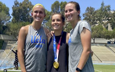 Materials Engineering Alumna is UCLA's First Gold Medalist at 2020 Tokyo Olympics