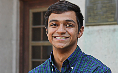 Ph.D. Student Receives Department of Energy Computational Science Graduate Fellowship