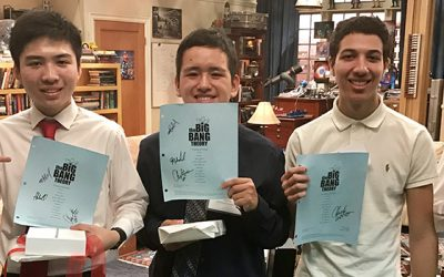 UCLA Big Bang Theory scholars