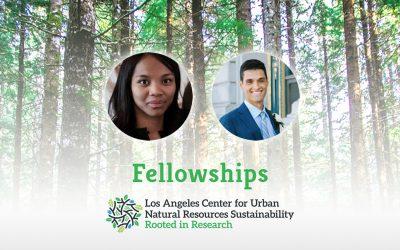 Environmental Engineering Grad Students Receive Sustainability Fellowships