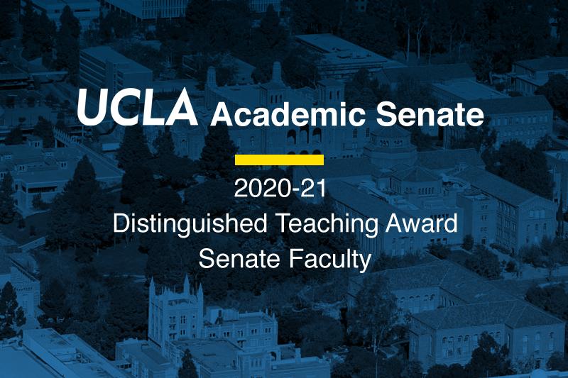UCLA Academic Senate Award
