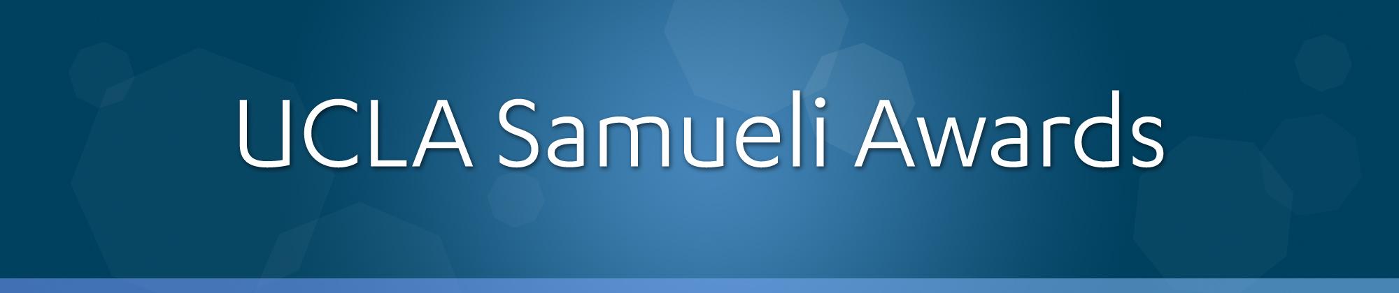 UCLA Samueli Awards