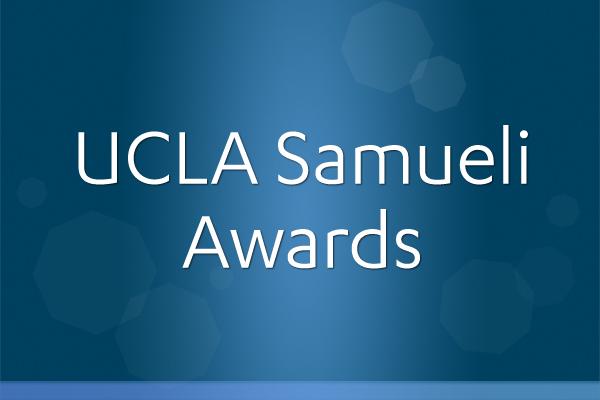 UCLA Samueli Announces 2021 Awards - UCLA Samueli School of Engineering Newsroom