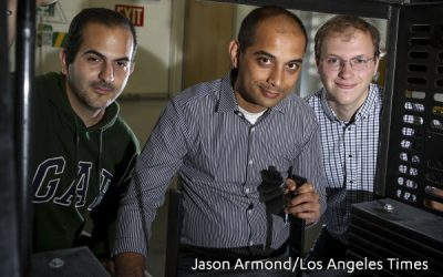 UCLA's CO2Concrete Team Featured in Front Page of Los Angeles Times – Turning Carbon into Concrete Could Win a Climate Victory and $7.5 Million Prize