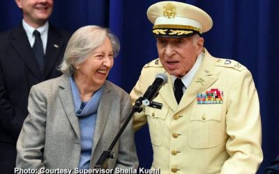 Alumnus Col. Dick Littlestone Named Veteran of the Year