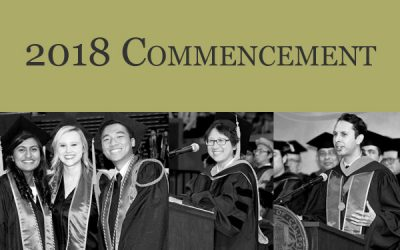 Class of 2018 celebrated at commencement