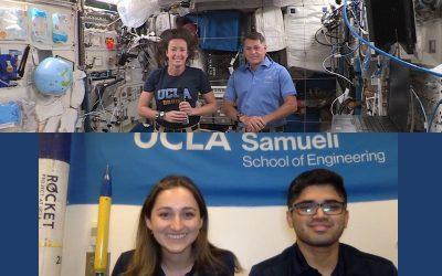 UCLA Engineering In-Flight Conversation with SpaceX Crew 2 aboard the International Space Station