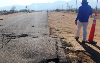 UCLA engineers in the field after major California earthquakes