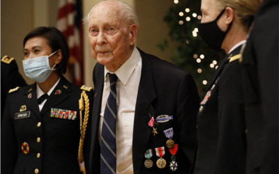 Professor Emeritus Honored with Bronze Star for Meritorious Service in WWII