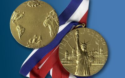 Alumni Henry Samueli and Reza Rofougaran Awarded the Ellis Island Medal of Honor