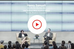 The Ronald and Valerie Sugar Distinguished Speaker Series - Henry Samueli