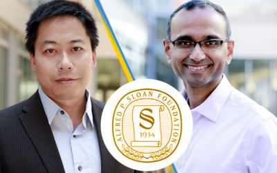 Hu, Raman named Sloan Research Fellows