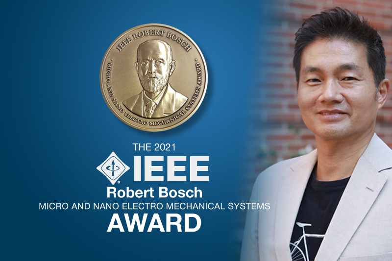 UCLA Engineering Professor Receives Highest Honor in Micro and Nano Electro Mechanical Systems