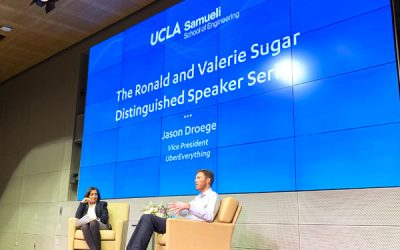 Jason Droege: From a UCLA dorm room to leading UberEverything