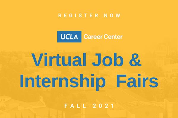 Virtual Job and Internship Fairs