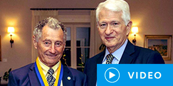 2020 UCLA Medal Ceremony honoring Prof. Leonard Kleinrock Video