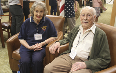 Professor Emeritus Knuth Honored by France for WWII Service