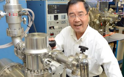 Kang Wang awarded international honor for seminal discovery in magnetism