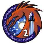SpaceX Dragon Crew-2 mission patch