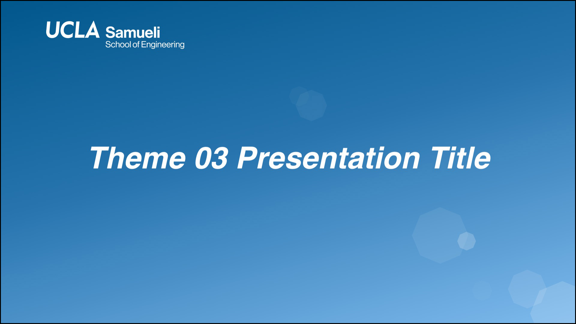 03 PowerPoint Presentation Template