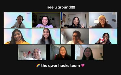 QWER Hacks: A Case Study on How to Build an Inclusive Hackathon