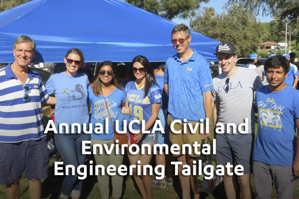 Annual UCLA Civil and Environmental Engineering Tailgate