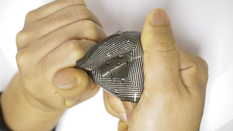 waterproof magnetoelastic generator for bioelectronics