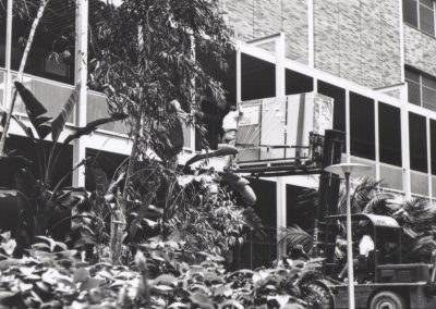 The delivery of the SDS Sigma 7 computer to Boelter Hall