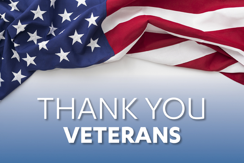 Thank you. Veterans